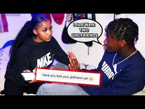 I Told MY GIRLFRIEND That I Want TWO GIRLFRIENDS PRANK