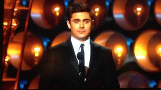 Zac Efron at The Oscars 2014