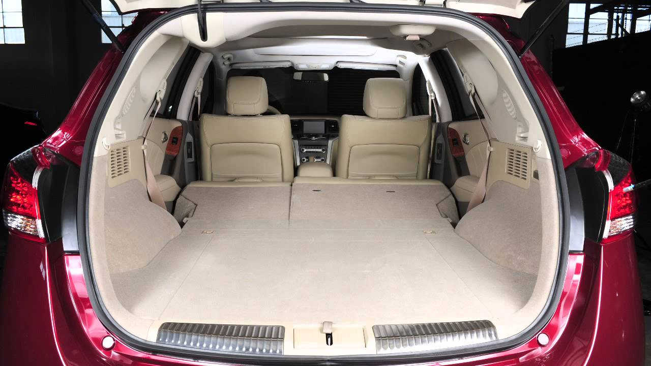 Nissan Armada Interior