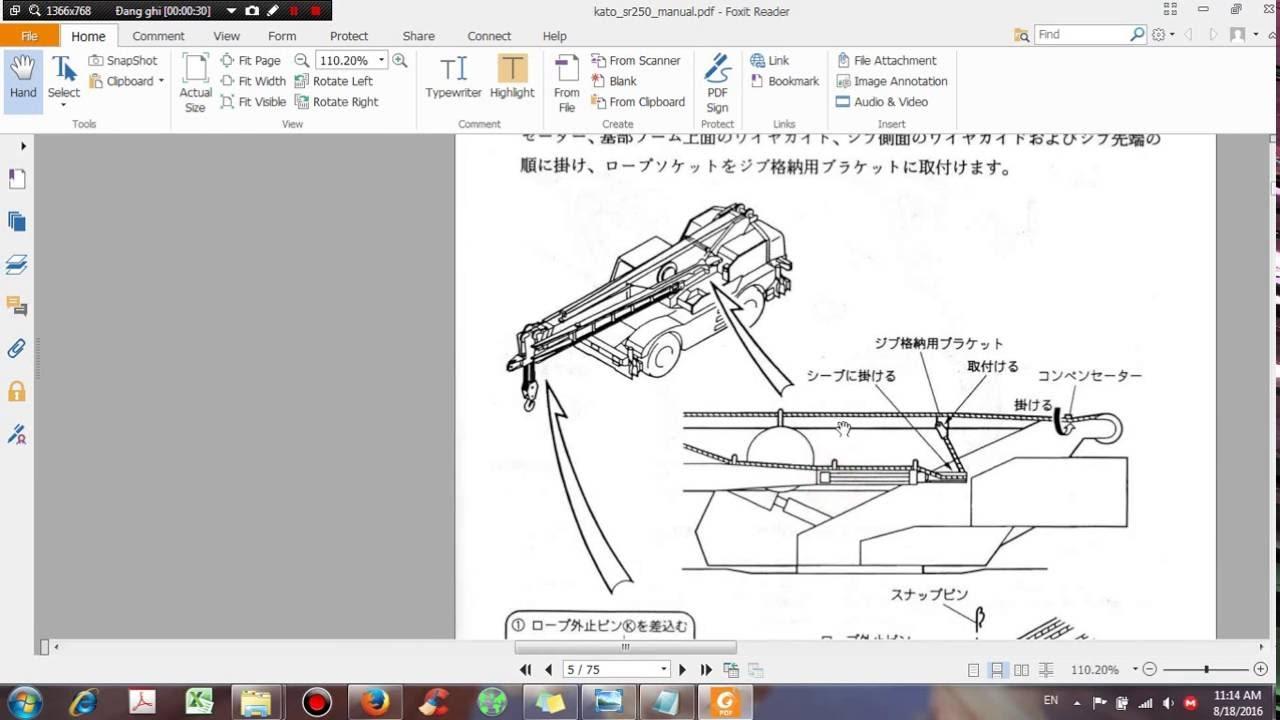 kato kr25h v2 sr 250sp manual dhtauto com youtube rh youtube com Kato Crane Nk 1000 Kato Crane Nk 1000