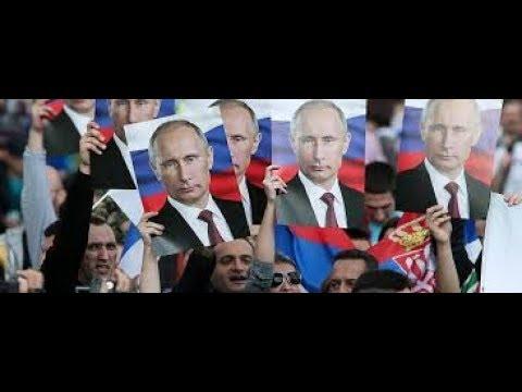 Putin besucht Serbien. Begeisterung auf den Straßen von Belgrad.
