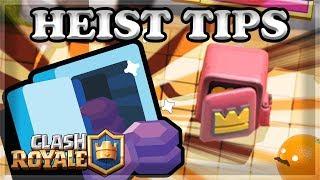 BEST Heist Deck Building Tips for Clash Royale 🍊