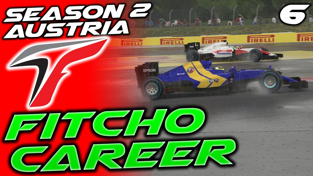 F1 2016 Toyota Career 6 Austrian Fightback Fitcho S2