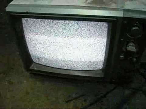 Testing Old Color Tv U0026 39 S And Microwaving A Boom Box