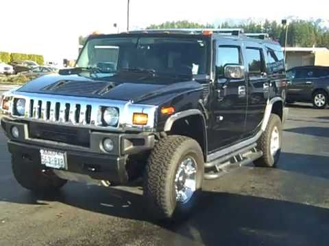 2004 hummer h2 4x4 black art gamblin motors c2121 youtube. Black Bedroom Furniture Sets. Home Design Ideas