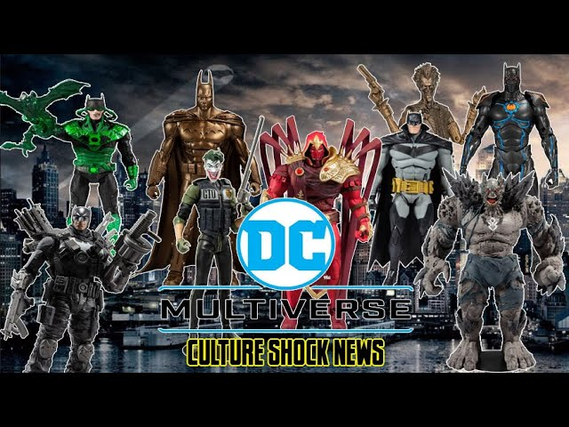 cSc News: McFarlane Dc Multiverse Figures Unboxing
