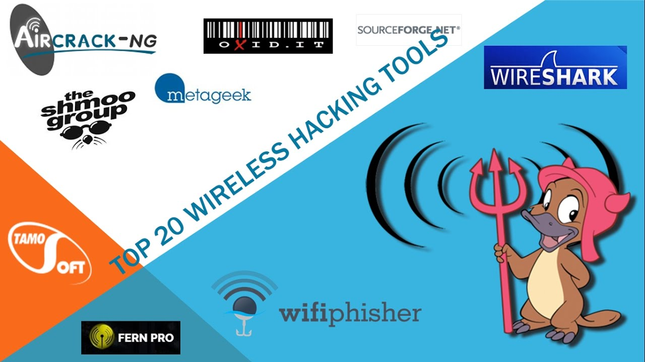 Top 20 Wireless Tools Used By Information Security Analyst
