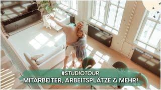 OFFICE TOUR - So arbeiten wir in unserem Studio! | AnaJohnson YouTube Videos