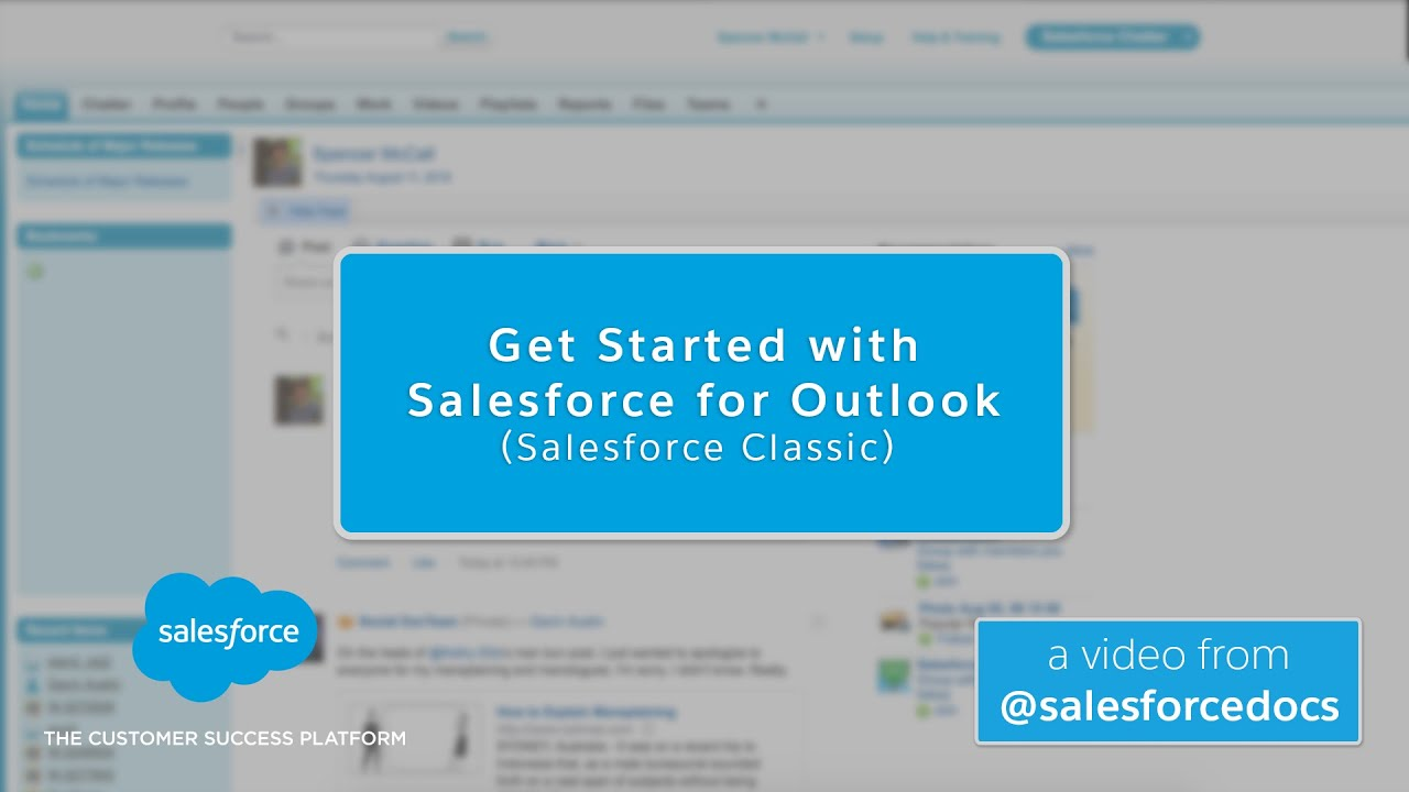 Salesforce for Outlook Quick Start
