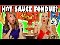 - Hot Sauce Fondue Challenge with Sriracha with Weird Ingredients. Totally TV