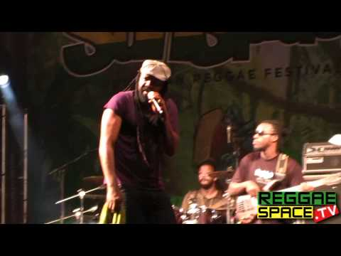 Tony Rebel - If Jah Is Standing By My Side - Rototom Sunsplash 2011