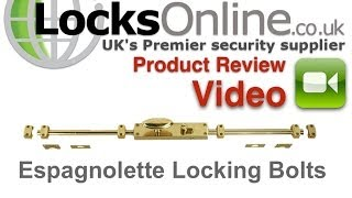Jedo Espagnolette Euro Rim Door Lock for French Style Doors   LocksOnline Product Reviews