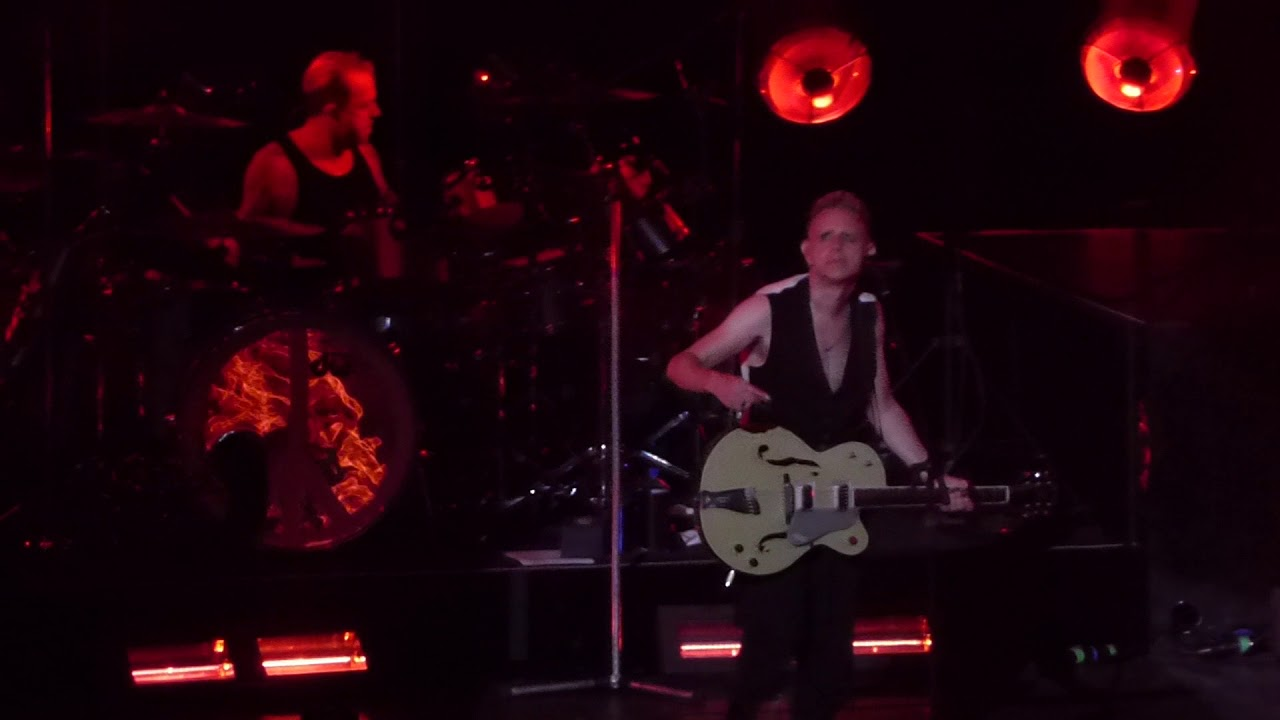 Depeche Mode Home Live Concert Oracle Arena Oakland October 2017 Youtube