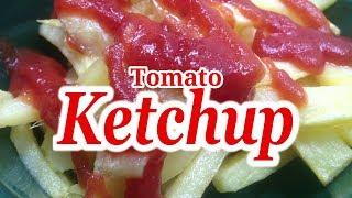 Tomato Ketchup Recipe - How to make Homemade Tomato Ketchup - Tomato Sauce Recipe by Recipes Mix