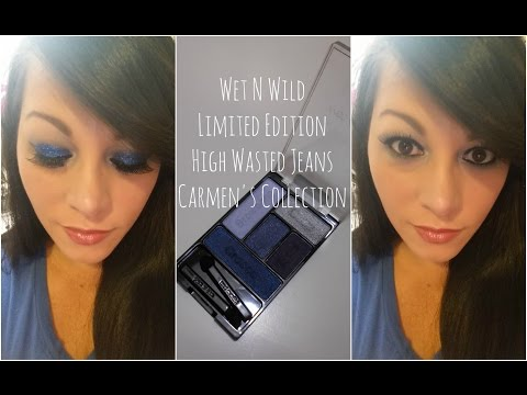 Wet N Wild | Limited Edition | High Wasted Jeans | Carmen's Collection | CarmenisaHotMess