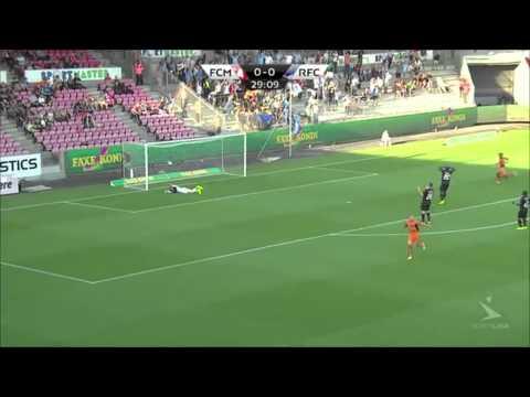 HIghlights: FC Midtjylland vs Randers FC 04.08.2014