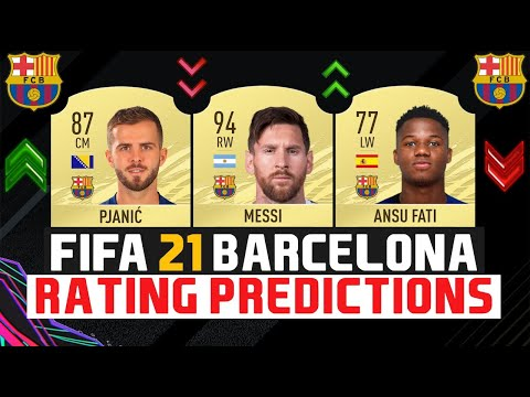 Fc Barcelona Fifa 21 Player Rating Predictions Do You Agree Let Me Know Barca