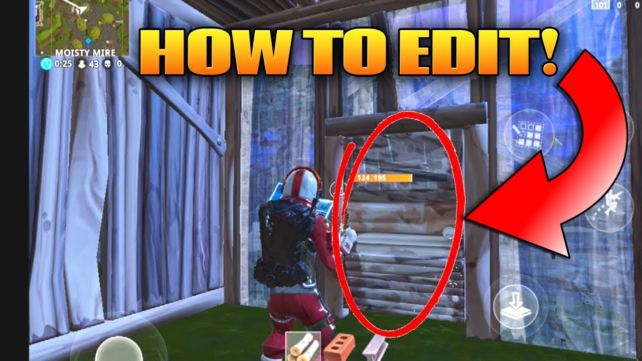 How to build doors in fortnite mobile