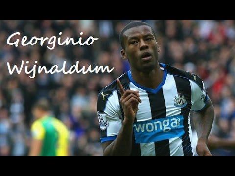 Georginio Wijnaldum ►Skills & Goals ● 15/16 ● Newcastle United ᴴᴰ