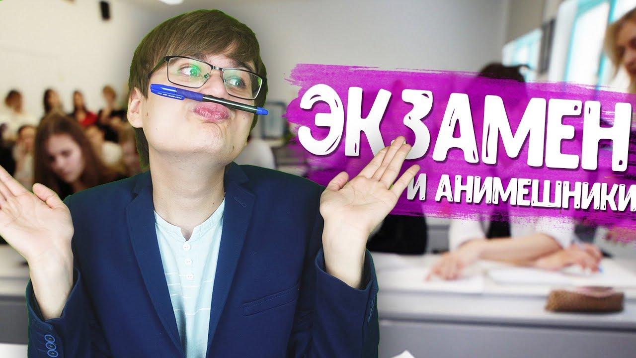 ТИПЫ АНИМЕШНИКОВ НА ЭКЗАМЕНЕ!