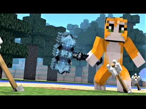 "Minecraft Song 1 Hour ""Battle"" ft. Stampy, Ssundee, Yogscast, Captainsparklez, Bajancanadian, & Sky"