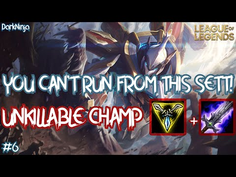 THIS CHAMPION IS UNKILLABLE!! (MECHA KINGDOMS SETT) LEAGUE OF LEGENDS MONTAGE SEASON 10 #6