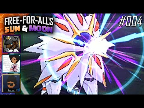 Pokémon Sun & Moon FFAs #004 Feat. PKSparkxx, SacredFireNegro & Twit!