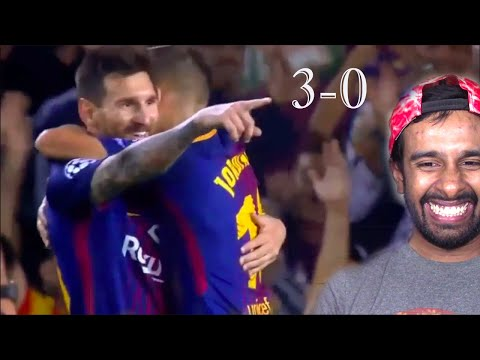 Barcelona vs Juventus 3-0 - Highlights & Goals 2017 HD(REACTION)