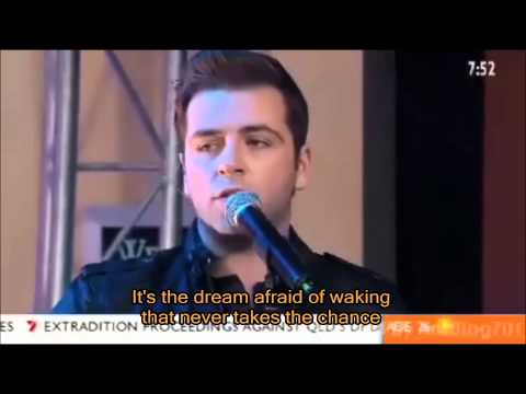 Westlife - The Rose with Lyrics (TV Live)