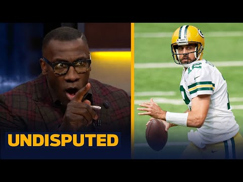 Aaron Rodgers' performance proved he's still in the MVP discussion — Shannon | NFL | UNDISPUTED
