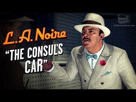 LA Noire Remaster - Case #6 - The Consul's Car (5 Stars)