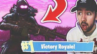 INSANE ENDING! *NEW* LMG GAMEPLAY in Fortnite: Battle Royale!