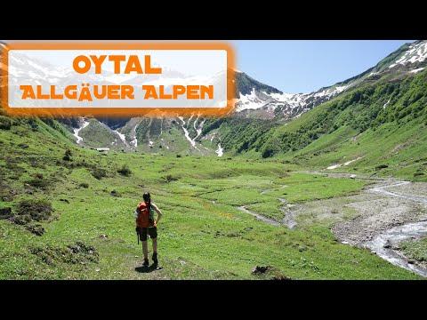 Traumhafte Wanderung durchs Oytal im Allgäu