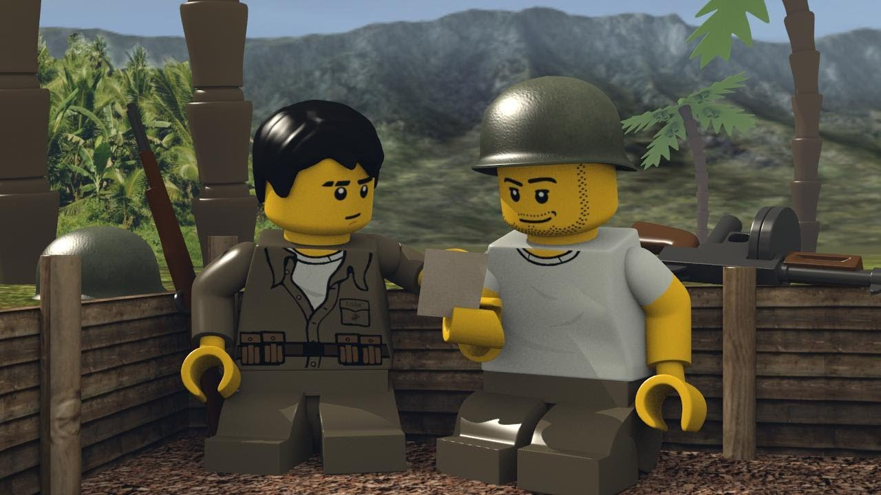 LEGO WAR IN THE PACIFIC - YouTube