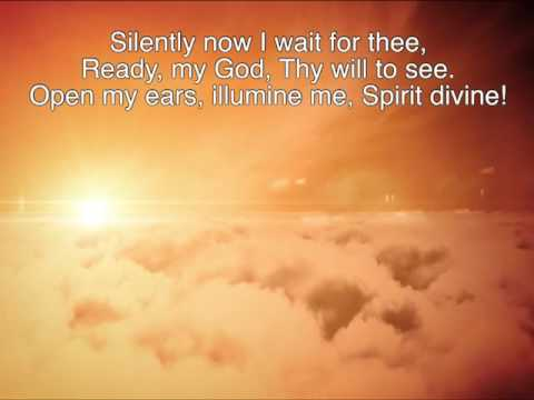 Open My Eyes That I May See ~ Joslin Grove Choral Society ~ lyric video