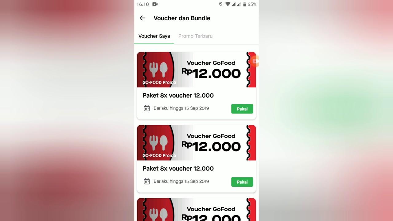 Promo Gojek Terbaru Link Voucher Go Food Terbaru Go Food 12k Buruan Sikat Sebelum Habis Youtube