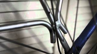 Axiom Journey Rear Bike Rack with broken welds (infrequent pannier use)