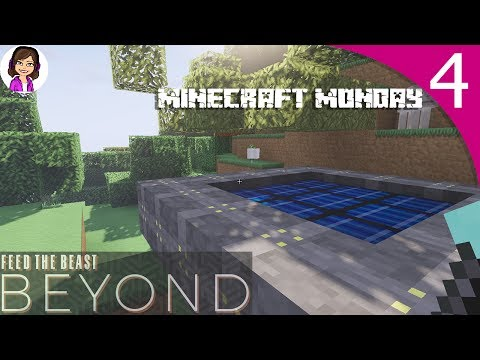 Minecraft Monday - FTB Beyond EP04 - Solar Power and the Kitchen Sink! ✨🤗