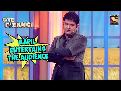 Kapil Entertains The Audience - The Kapil Sharma Show