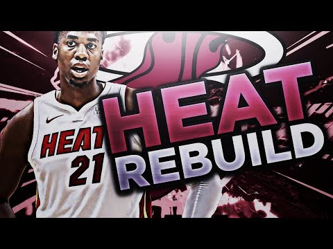DRAFTING A STUD!! REBUILDING THE MIAMI HEAT!! NBA 2K18 MY LEAGUE