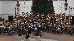 Tuba Christmas Jacksonville FL 2018 doing the Tuba Popcorn!