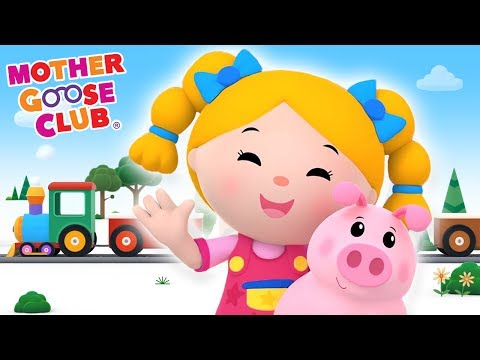 Color Train | Learn Colors with Baby | Mother Goose Club Kid Songs and Baby Songs