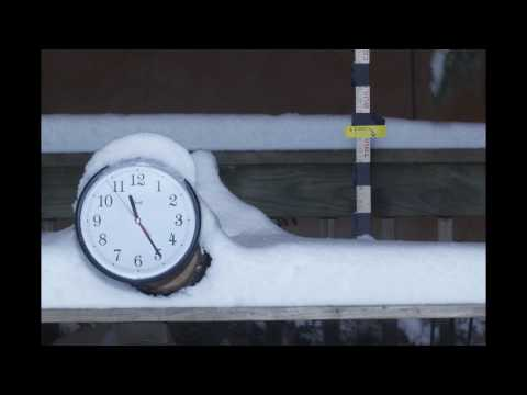 Havertown Snow Time Lapse