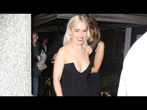 See Emilia Clarke's Adorable Reaction When Asked About Brad Pitt