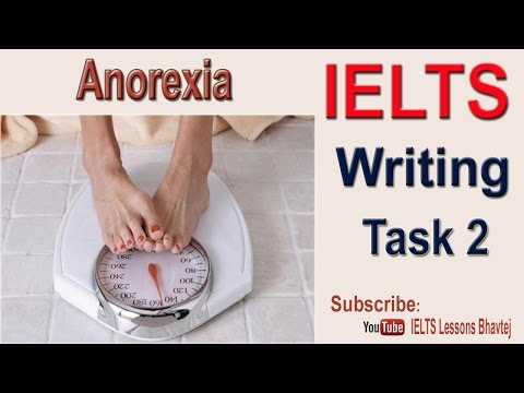 IELTS Writing Task 2 Anorexia Health Situation Essay Appeared UK July 2016