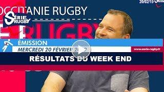 Emission Série Rugby Mercredi 20 Février 2019