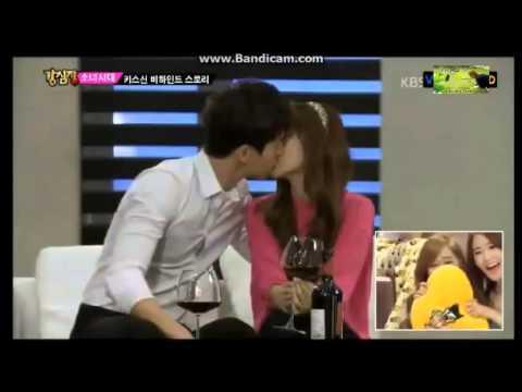 Strong Heart - SNSD Jessica's Kiss Scene in Wild Romance ...