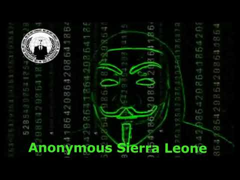 Anonymous  Letter for  peaceful  Elections in Sierra Leone 2018