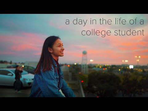 A Day In The Life Of A College Student | Uc Davis