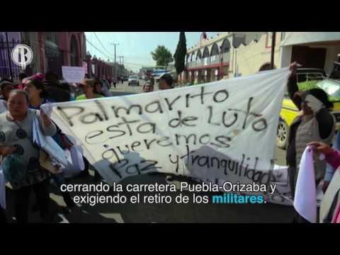 Batalla Campal por Combustible en Puebla